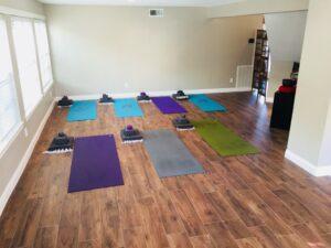 yoga practice home