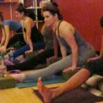 Life's a Gift students in the yoga studio